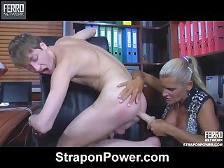 russian mature hannah - strapon compilation