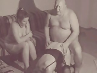 selfish chubby german daddy always gets what he wants