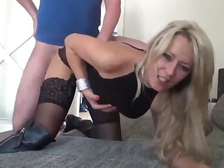 my best friend's busty mom loves my cock in all holes