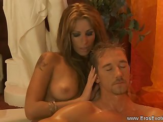 turkish massage lady blonde milf