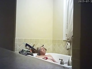 hidden camera wife masturbating in tub